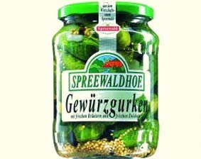 Gewürzgurken Spreelinge aus dem Spreewald - DDR Kultprodukte - DDR Produkte
