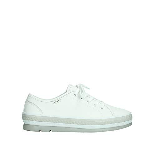 Wolky Comfort Schnürschuhe Linda - 30100 weiß Leder - 40