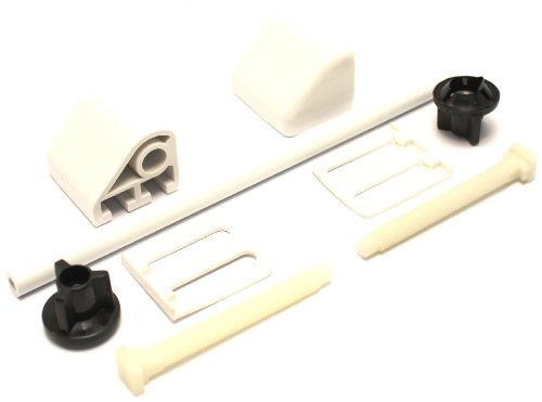 Plumb-Pak - Cardine per sedile WC, colore: Bianco, PPS42AMZ