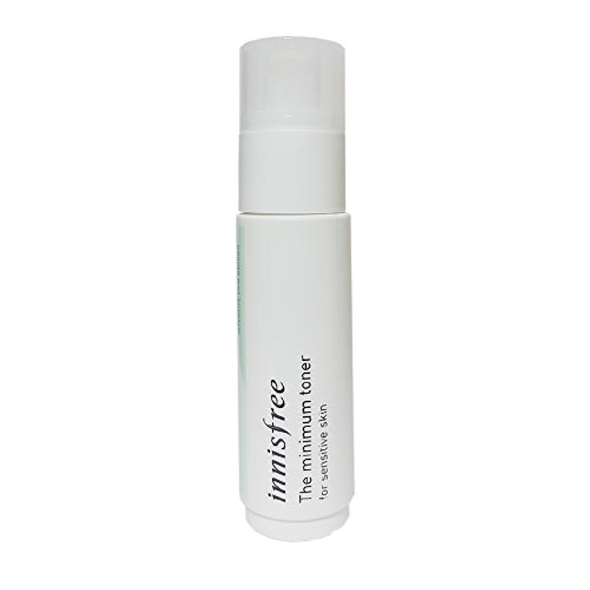 エントリインゲン周波数[イニスフリー] Innisfree ザミニマム トナー敏感肌用(45ml) Innisfree The Minimum Toner For Sensitive Skin(45ml)  [海外直送品]