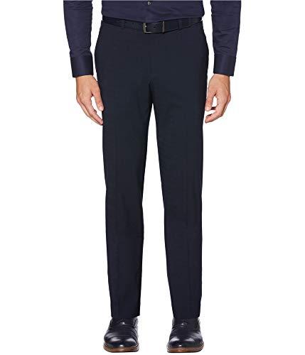 Perry Ellis Mens Stretch Dress Pant Slacks, Blue, 29W x 30L