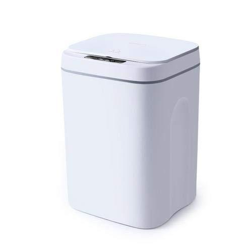 earlyad Cubo de Basura automático, Bote de Basura automático con Sensor de Movimiento sin Contacto y Tapa con detección de Movimiento Cubo de Basura automático Inteligente para Dormitorio, baño