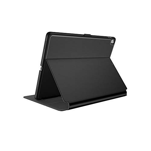 Speck Products Compatible Case for Apple iPad Mini 4, Balance Folio Case and Stand, Black/Slate Grey