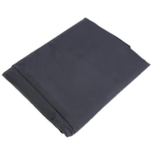 Funnyrunstore Cas Modernes Oxford Polyester 420D Étanche Chaise De Plage Meubles Jardin Table Ronde Parapluie Housse 188 * 84 cm Gris