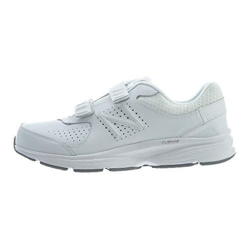 New Balance Men's, 411v2 Walking Shoe White 9.5 D