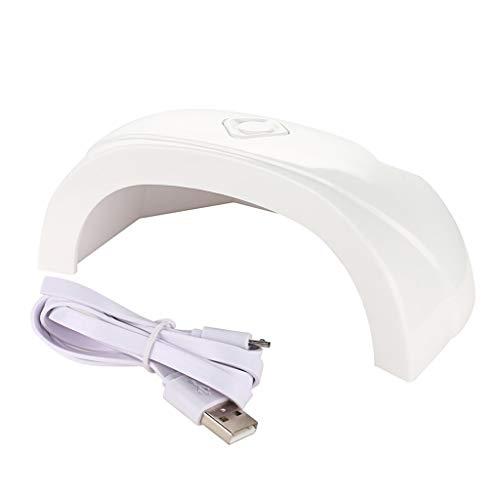 Ni_ka USB 12W LED Séchage Durcissement Machine-Outil UV Sèche-Ongles Lampe Légère Gel Polonais Les Règlements Européens et Américains sont Disponibles Induction Automatique Intelligente de Lampe