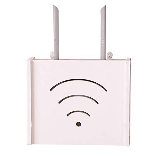 Yililay Wall Router WiFi Caja Almacenamiento