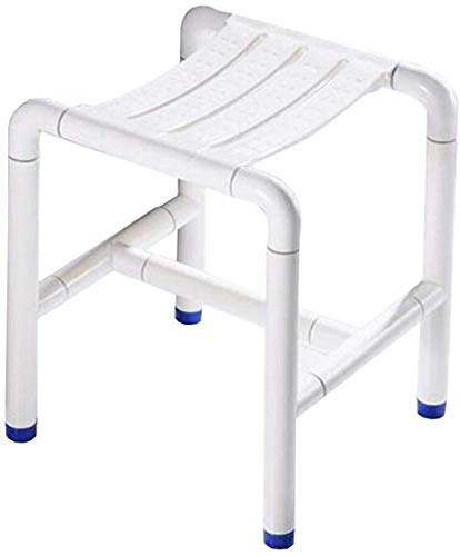 YHtech Handrails Bath Stool BarrierFree Safety and Comfort Bath Chair Elderly/Disabled/Pregnant Woman Adjustable Height Stainless Steel NonSlip Chair 200kg Easy to manage