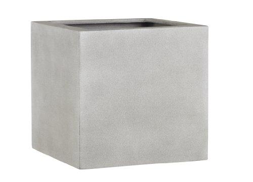 Esteras 8519719737 Naturelite Lisburn 37 Warm Concrete planter, 37 x 37 x 37 cm, 45 litres