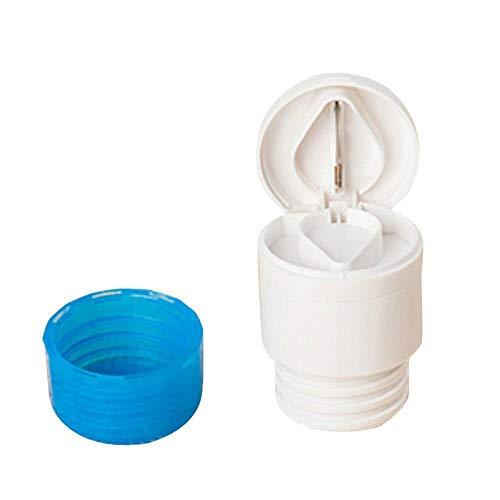 Aeromdale Carver Drugs 2-in-1-Cup-Pille-Medizin Tablet Splitter Grinder - Blue Pill Cutter und Pill Box Geschenk