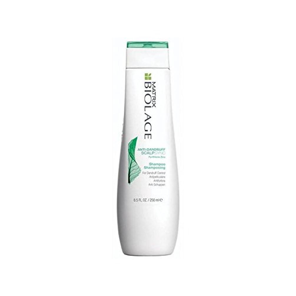 恐ろしいです同化する持つマトリックスバイオレイジのフケ防止シャンプー(250ミリリットル) x2 - Matrix Biolage Scalptherapie Antidandruff Shampoo (250ml) (Pack of 2) [並行輸入品]
