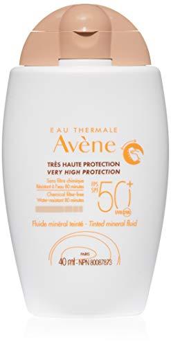 Eau Thermale Avene Tinted Mineral Sunscreen Fluid, 1.3 Fl Oz