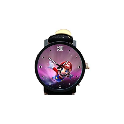 XINKANG Reloj Super Mario Versión Coreana De Super Mary Hombres Gran Reloj Creativo Hombre Y Mujer Estudiantes Regalo Regalo Regalo De Cumpleaños