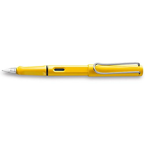 Lamy safari Füllhalter Kunststoff gelb Feder F 1208111