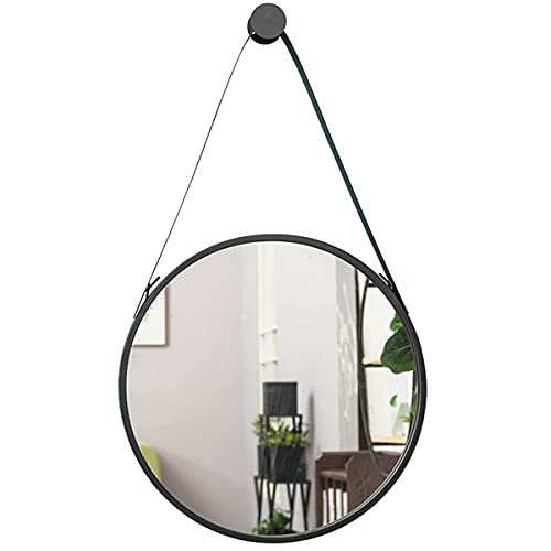 FHISD Espejo de pared redondo de decoración, espejo decorativo para dormitorio, decoración de pared en baño, sala de estar, galería manera y otras tiendas