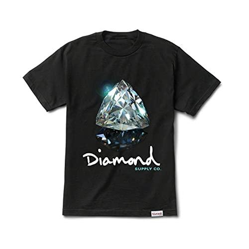 Diamond Supply Co. Men's Brilliant Diamond Short Sleeve T Shirt Black Lifesty L Black