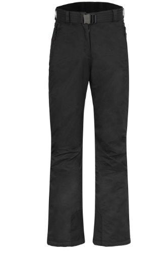 Maier Sports Damen Ski Hose Sunset, Black, 23, 125001-12