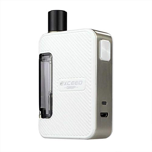 Joyetech Exceed Grip Kit 1000 mAh, Pod-System 3,5 ml / 4,5 ml, Riccardo e-Zigarette, weiß