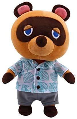 JIAL TEDS 28 cm Waschbär Tom Nook Spielzeug Tier Kreuzung Spielzeug Cartoon Tanuki Bär Weiche Teddy Puppe Teddy Spielzeug Geschenk für Kinder Chongxiang (Color : Default)