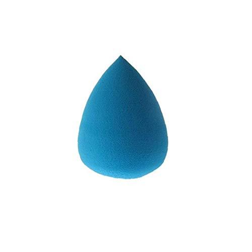 1 Pc Goutte D'eau Velours Éponge Cosmétiques Éponge Fondation Blender Blending Cosmétiques Puff Bleu