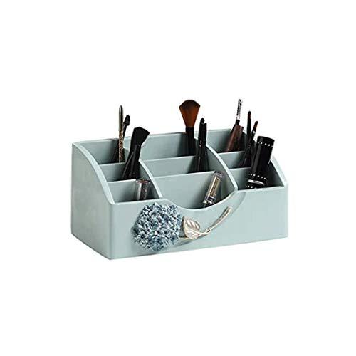 JYDQM Organizador de Maquillaje, Maquillaje de la Caja de almacenaje Holder, Maquillaje de Almacenamiento de Escritorio, cosmético del almacenaje for Cepillos