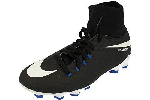 Nike Hypervenom Phelon 3 DF FG Jr 917772 002, Baskets Mixte Adulte, Mehrfarbig (Indigo 001), 36 EU