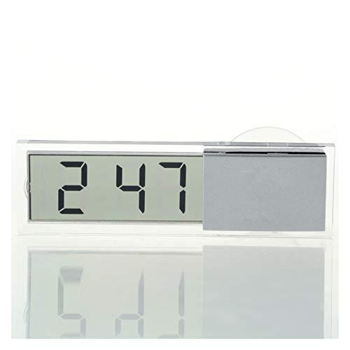 TYLJ MyBHD Relojes y Relojes Digitales LED Sartre Wall Oficina PEQUEÑA Oficina AUTORIENTE DIY Alarma Temperatura de Temperatura Mesa de Espejo Reloj de Pared
