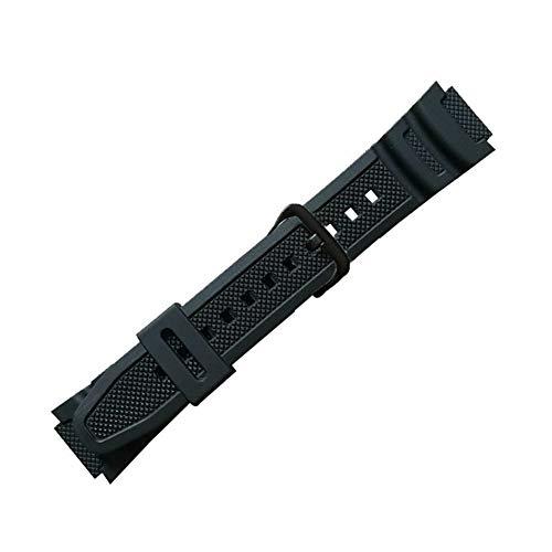 GCDN Cinturino di Ricambio for Casio AQ-S810W, Cinturino per Orologio PU a sgancio rapido Cinturino for Casio AE-1000 / AE-1200 / AE1100 / W800H / AQ-S800