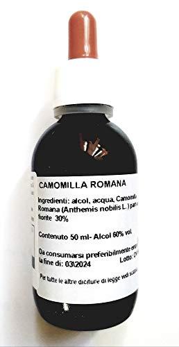 CAMOMILLA ROMANA Estratto idroalcolico Tintura madre 50 ml.