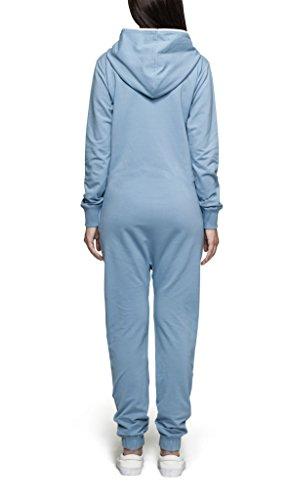 OnePiece Unisex Original Jumpsuit, Blau (Dusty), 42 (Herstellergröße: XL) - 2