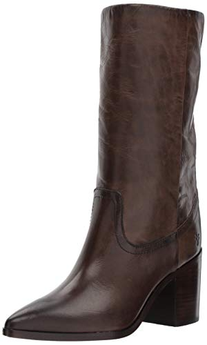 FRYE Women's Flynn Mid Pull On Boot, Slate, 5.5 M US