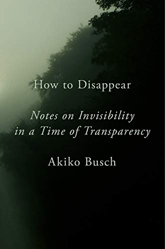 How to Disappear: Notes on Invisibility...