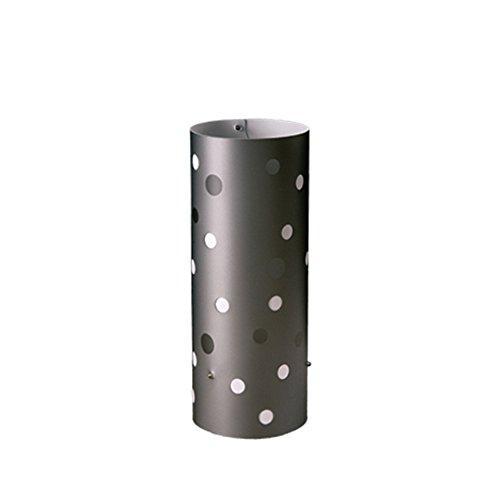 Linea Zero 608/P/GR–Lámpara de mesa Polka Dot, plástico, Gris, 15x 15x 32cm