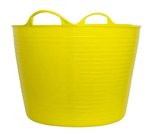 Decco Ltd Tubtrug Bassine Souple, Grand modèle 38 L Citronier