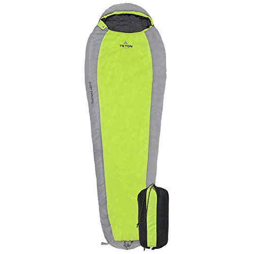TETON Sports TrailHead Sleeping Bag; Lightweight Camping, Hiking