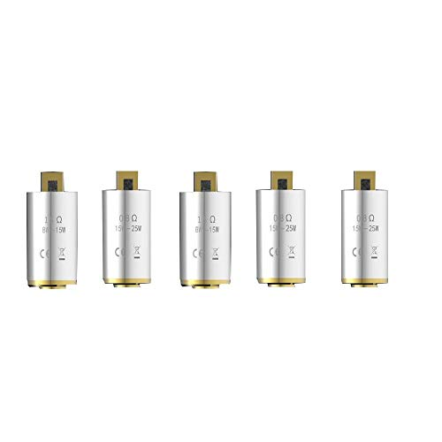 Kangertech NCOCC Coils, Subox Mini V2 Coil Head 0.8ohm, 5pcs/Pack, Nicotine Free