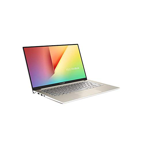 ASUS VivoBook S13 S330UA (90NB0JF2-M00500) 33,7 cm (13,3 Zoll Full HD, matt) Notebook (Intel Core i7-8550U, 8GB RAM, 512GB SSD, Intel UHD-Grafik 620, Win 10 Home) gold metall