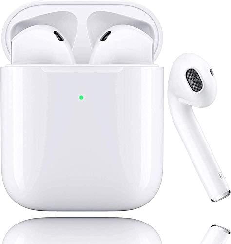 Bluetooth-Kopfhörer 5.0, kabellose Touch-Kopfhörer HiFi-Kopfhörer In-Ear-Kopfhörer Rauschunterdrückungskopfhörer,Tragbare Sport-Bluetooth-Funkkopfhörer,Für Android/iPhone/Airpods/Samsung