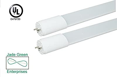 4 Foot T8 LED Tube Light 18W , 3000K (Warm), 4000K (Neutral), 5000K (Daylight), 2160 Lumens (120 Lm/W), Single End Power, UL Listed, DLC Listed