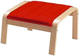 Ikea Ottoman cushion,(Cushion Only ) Ransta red 1628.52929.2610 (Frame not included)