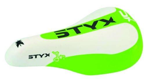 Styx juniorsattel Vert/Blanc