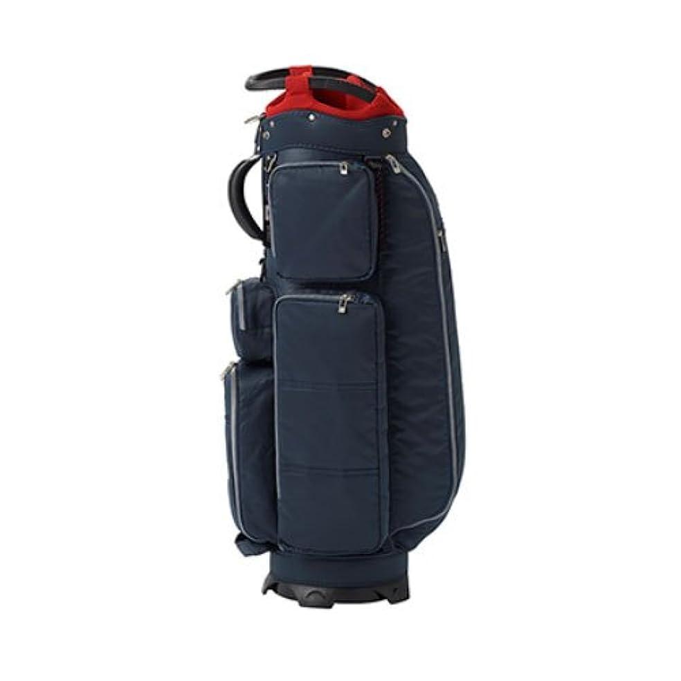 水平恵み床ONOFF(オノフ) キャディーバッグ onoff equipment キャディバッグ 9型 47インチ対応 軽量タイプ OB0418-04 ネイビー 重量:2.9kg 軽量タイプ