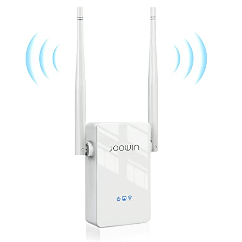 JOOWIN Répéteur WiFi Puissant 2.4GHz Amplificateur WiFi 300Mbps WiFi Extender sans Fil...