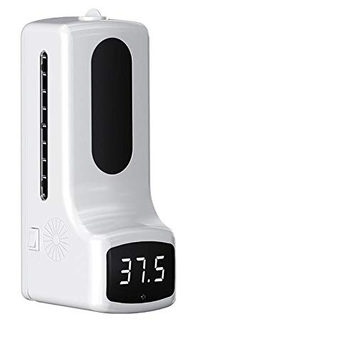 Wall Mounted Thermometer with Hand Soap Dispenser K9 PRO Automatic Temperature Measurement and Disinfection Machine with Alarm