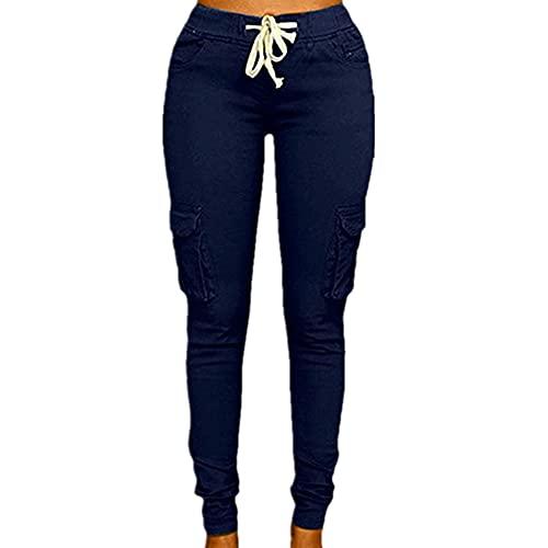 Primavera Fashing Mujeres Lápiz Pantalón Encaje Hasta Cintura Casual Mujeres Pantalones Sólido