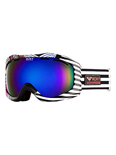 Roxy Damen Sunset Art Series-Snowboard-/Skibrille, True Black Active Base, 1SZ