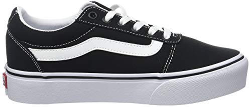 Vans, Wm Ward Platform Damskie Sneakersy, Czarny, 42 EU