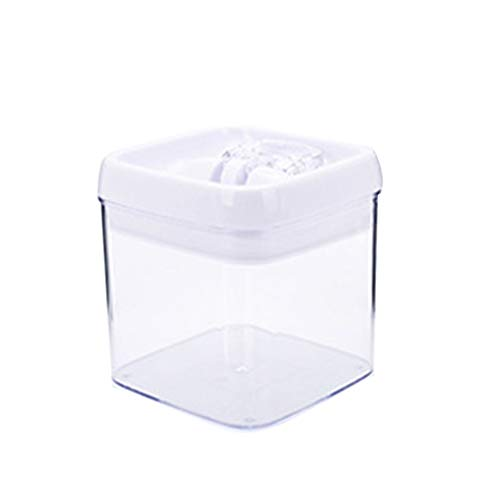 LINGDANG Airtight Food Storage Containers, BPA Free Plastic Cereal Containers with Easy Lock Lids, for Flour, Sugar, Baking Supplies, Kitchen & Pantry Storage Container with Lids (S)