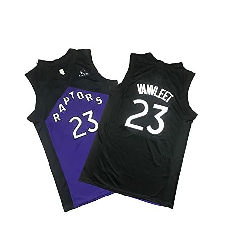YDSZ Ráttor 23# ván Hole púrpura Negro edición Especial Uniforme de Baloncesto, Camiseta para Hombres Sudadera, Ropa Deportiva Transpirable Black-M