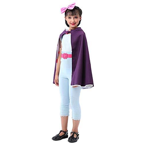 KIDSCOSPLAY Kinder Cosplay Anime Schäferin Kostüm Halloween Karnevals Party Weihnachtsaufführung Kleidung Blue-M